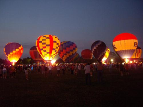 twinkling balloons