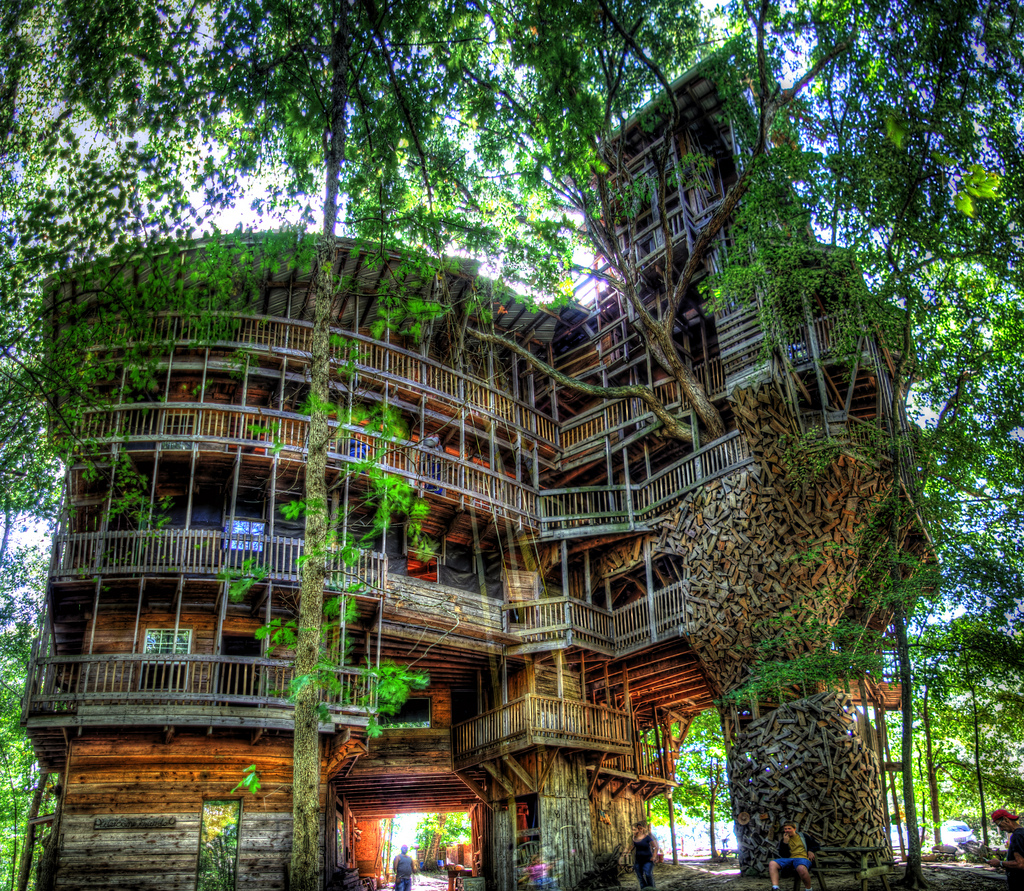 Tennessee Treehouse : NO Adventure