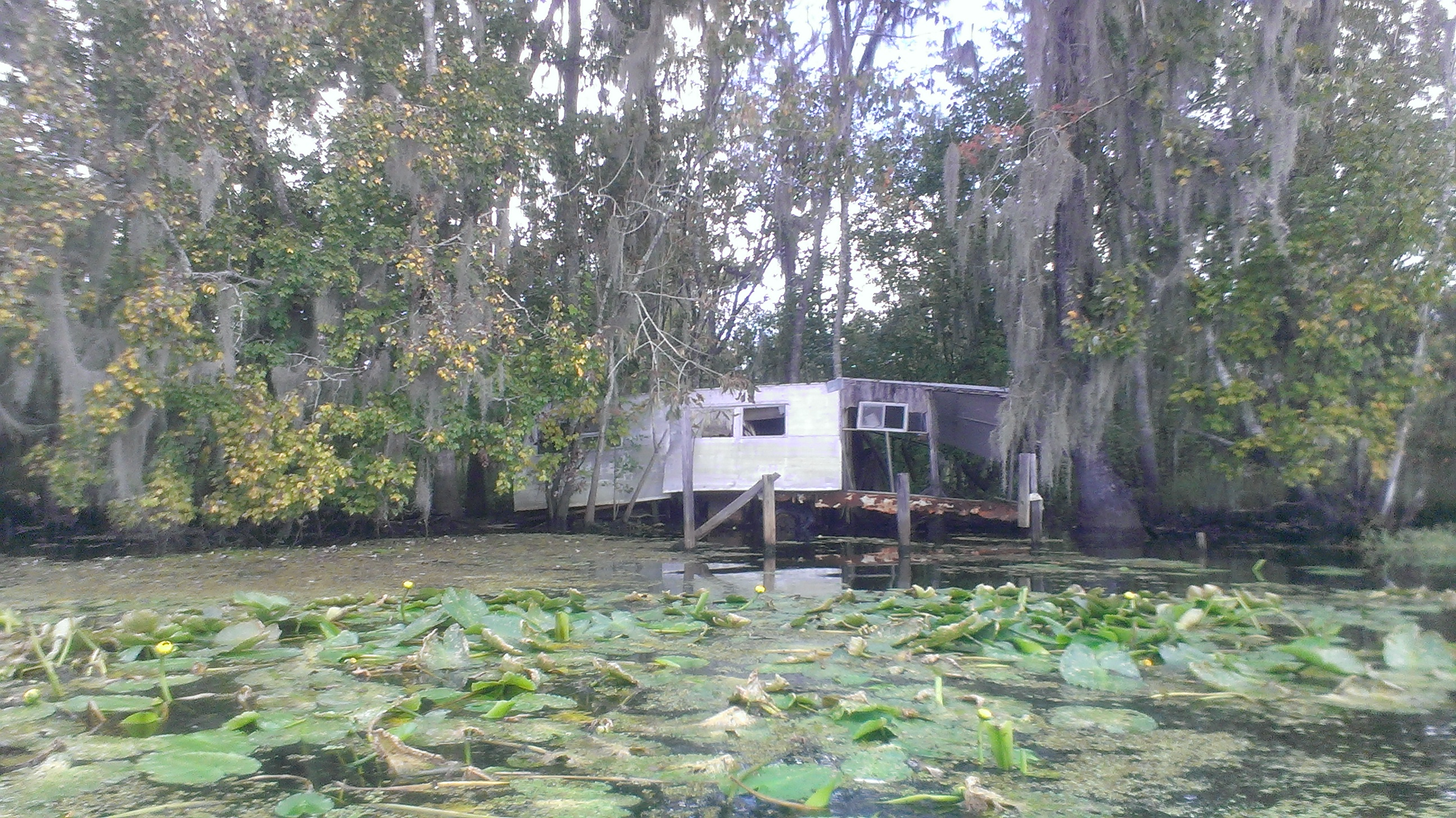 Blind river paddle no adventure for Louisiana fishing camps